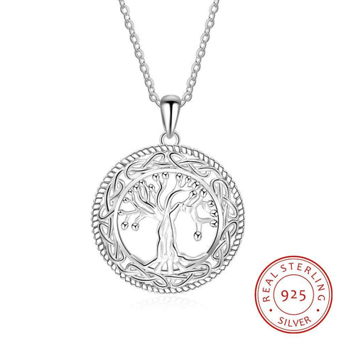 e4c0d3e01073b 925 Sterling Silver Tree of Life Pendant Necklace – Elysian 925