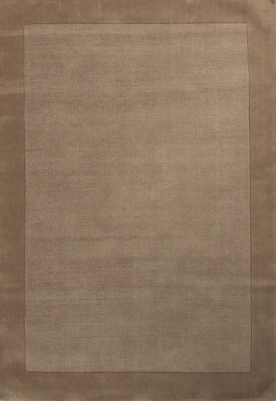 Timeless Loop Wool Pile Latte Coloured Rug