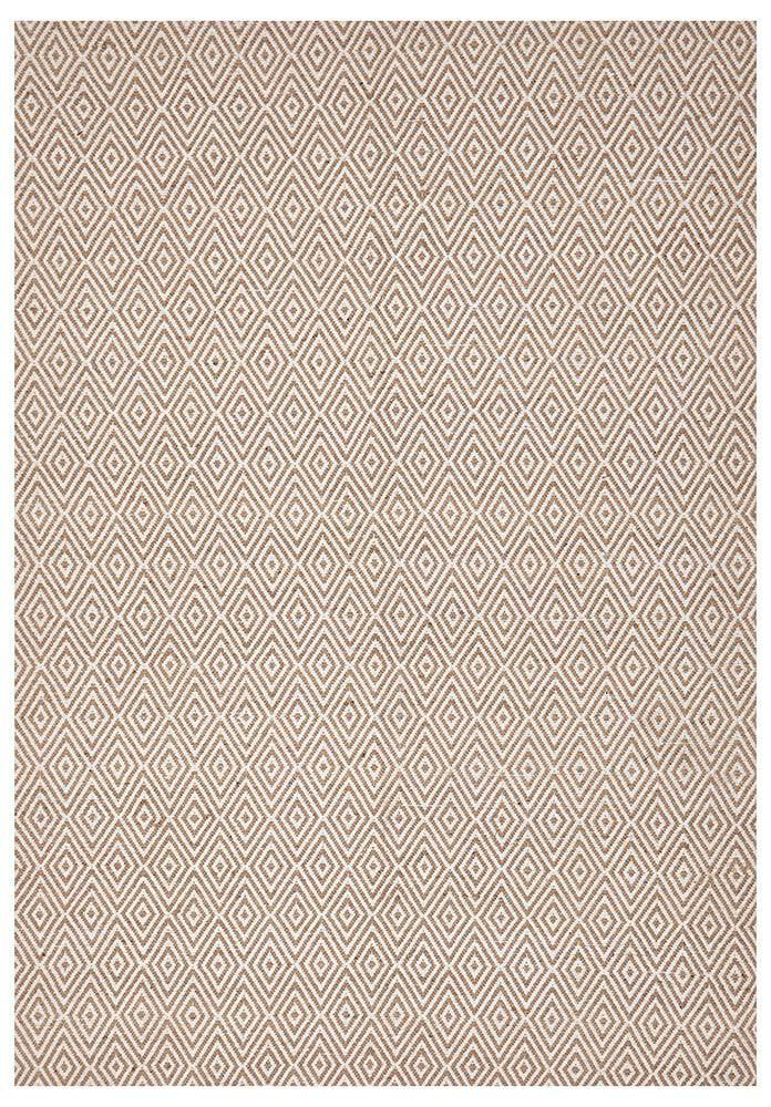 Abode Diamond Design Beige Rug - Cheapest Rugs Online - 1