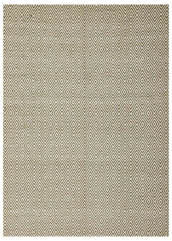 Abode Diamond Design Green Rug - Cheapest Rugs Online - 1