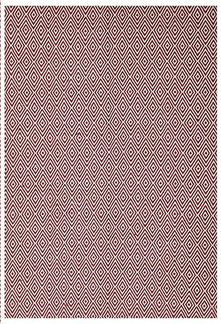 Abode Diamond Design Red Rug - Cheapest Rugs Online - 1