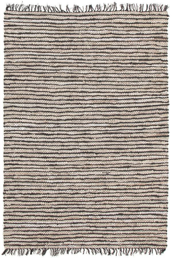 Atrium Delta Black and White Rug