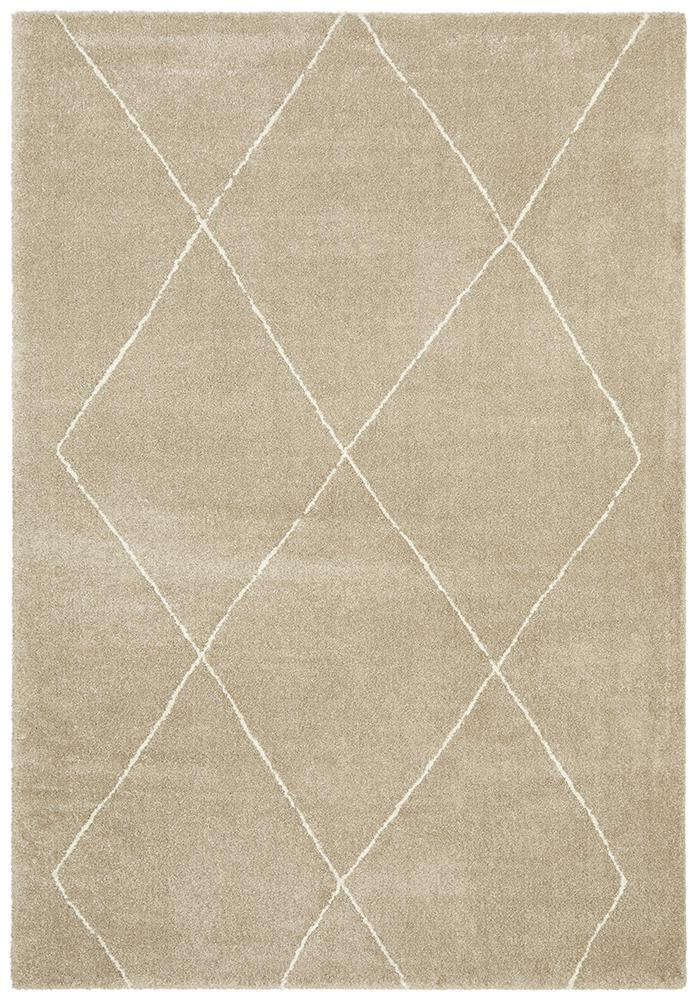Broadway Jasmine Diamond Natural Rug