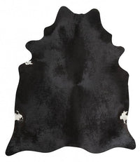 Exquisite Natural Cow Hide Black