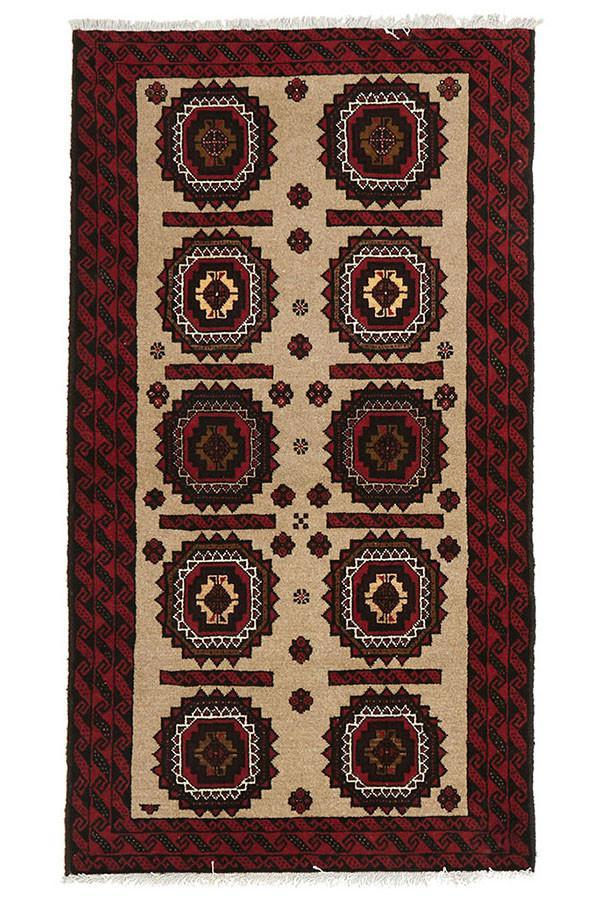 Oriental Hand Knotted Balouch Rug - Cheapest Rugs Online - 1