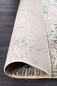 Dreamscape Artistic Nature Modern Charcoal Runner Rug