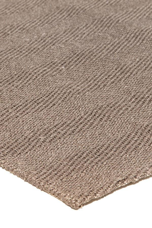Eco Sisal Herringbone Brown Runner