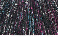 Escape Eliza Stunning Flat Woven Rug Black