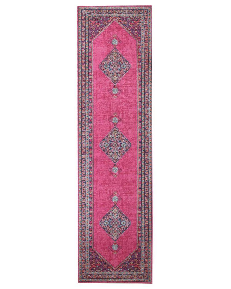 Eternal Whisper Diamond Pink Runner Rug
