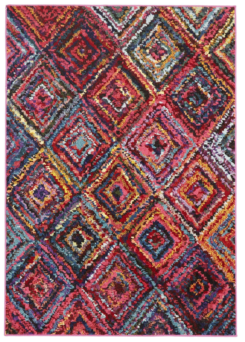 Gemini Modern 503 Multi Coloured Rug