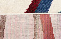 Gemini Modern 508 Multi Coloured Runner Rug