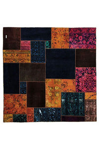 Authentic Hand Knotted Patchwork Rug - Cheapest Rugs Online - 1