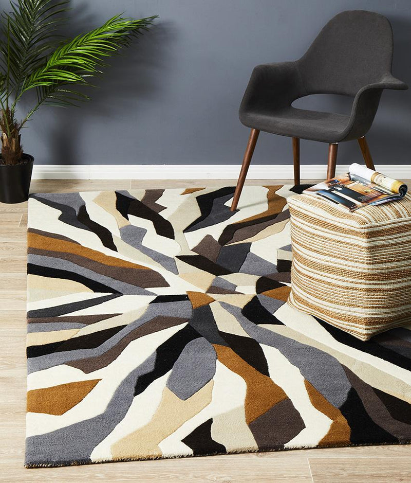 Matrix Pure Wool 903 Fossil Rug