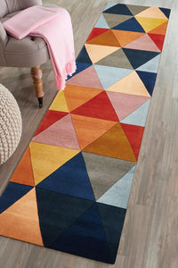 Matrix Pure Wool 905 Multi Runner Rug