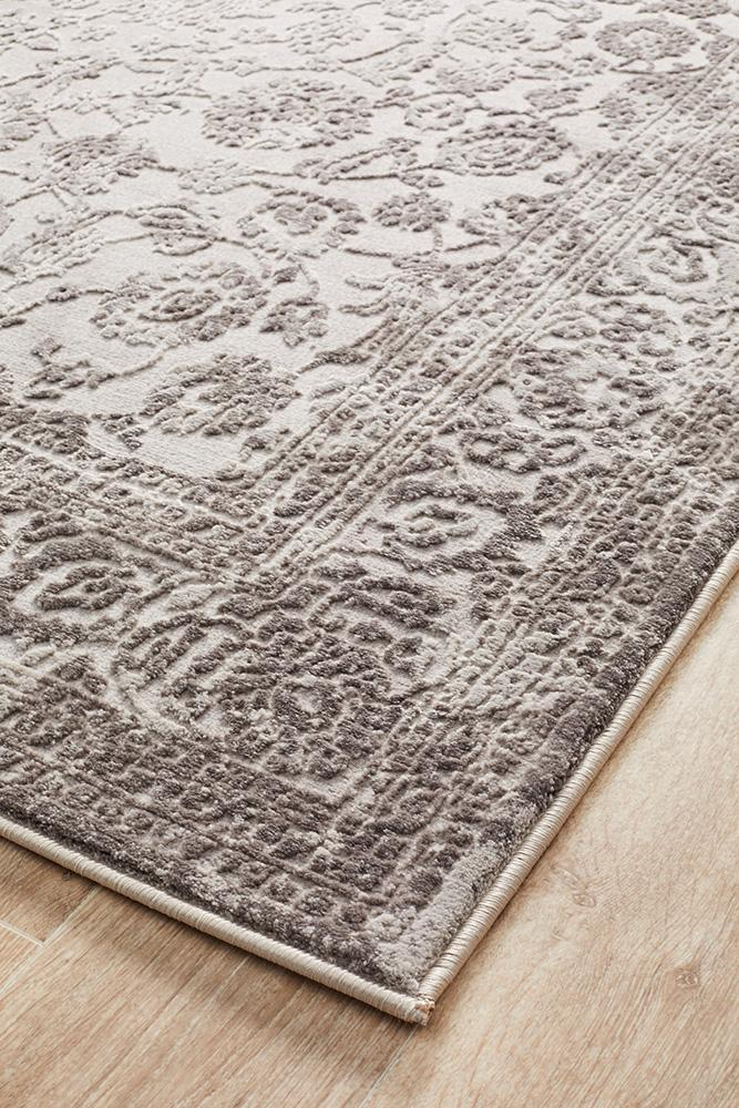 Opulence Lucy Silver Rug