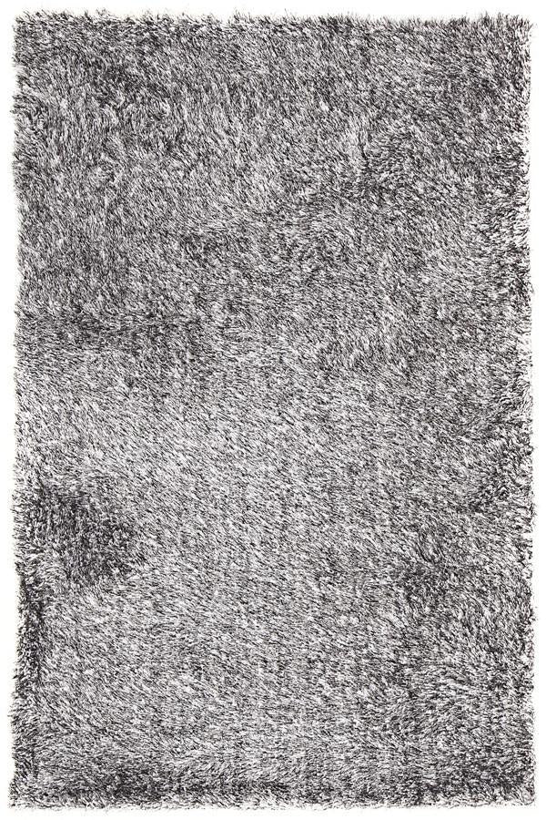 Oslo Shag White & Grey Rug