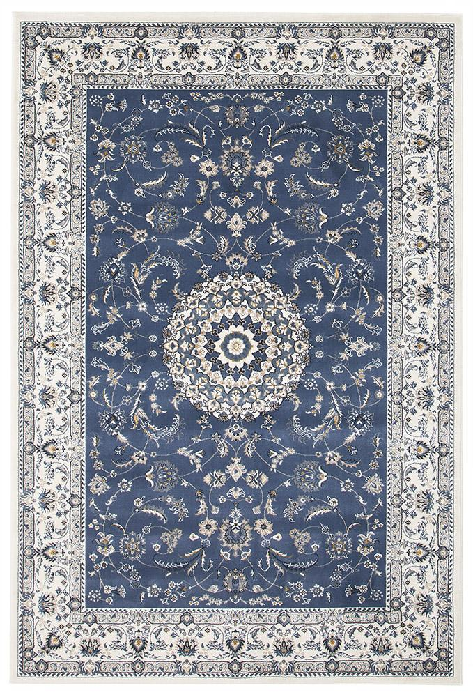 Palace Manal Oriental Rug Blue White