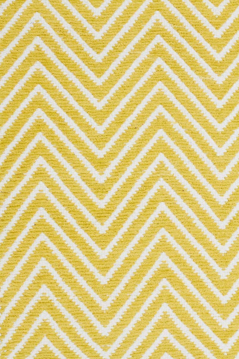 Spirit Chevron Yellow Rug
