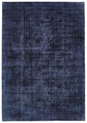 Twilight Collection Navy Rug
