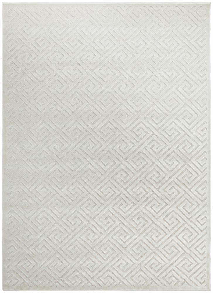 York Alice Natural White Rug