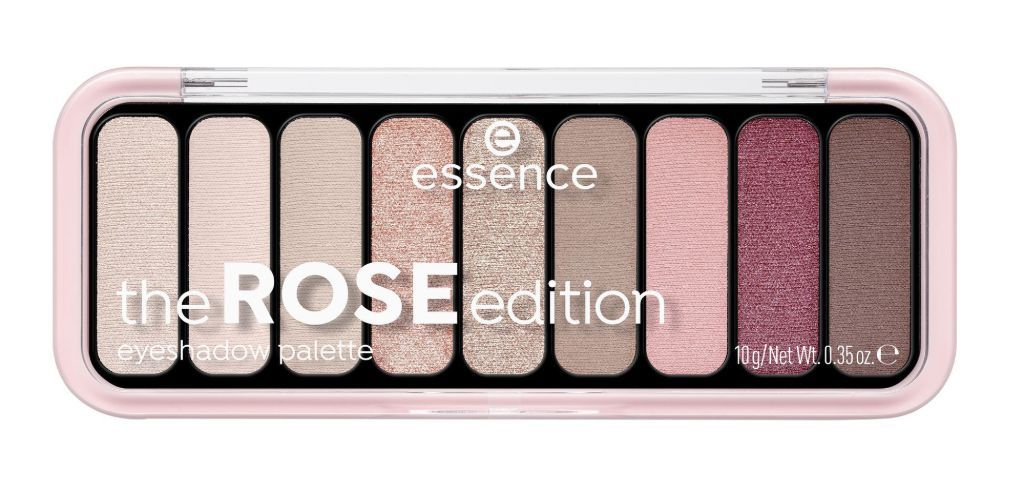 essence the ROSE edition luomiväripaletti