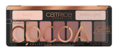 Catrice The Matte Cocoa Collection Luomiväripaletti