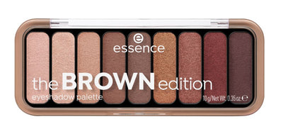 essence the BROWN edition Luomiväripaletti