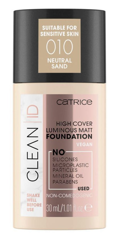 Catrice Clean ID High Cover Luminous Matta Meikkivoide