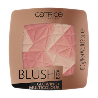 Catrice Blush Box Glowing + Multicolour Poskipuna
