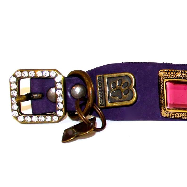 Amethyst Dog Collar
