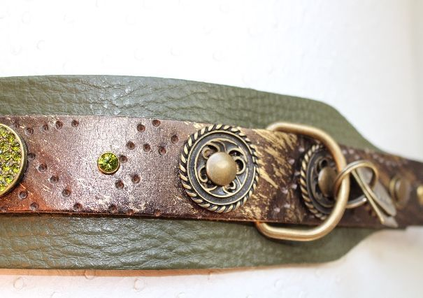 Evergreen Forest Dog Collar - BARCELONADOGS