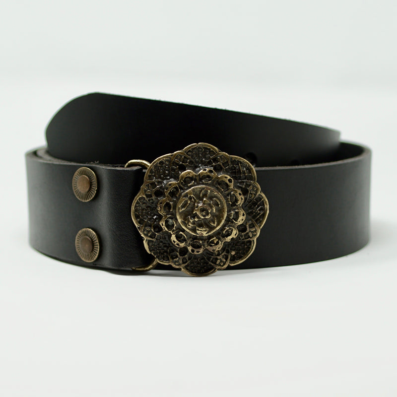 Antique Rose Belt Gold - BARCELONADOGS
