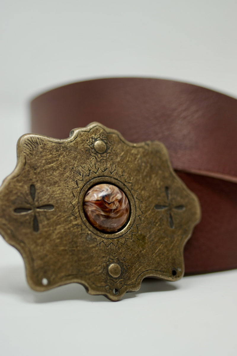 Shania Belt Brown - BARCELONADOGS