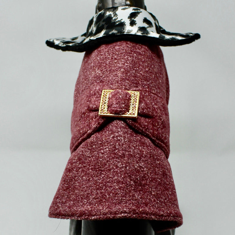 Plum Dog Coat - BARCELONADOGS