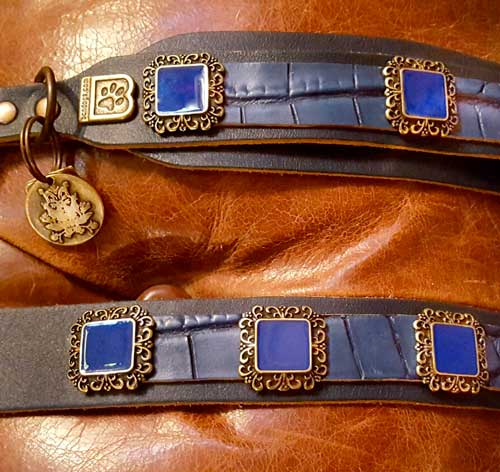 Gregorian Elegance Dog Collar - BARCELONADOGS