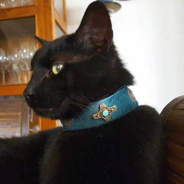 Medieval Cross Cat Collar - BARCELONADOGS