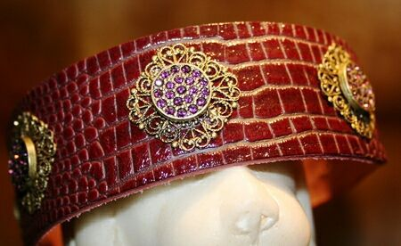 Filigree Crystal Dog Collar - BARCELONADOGS