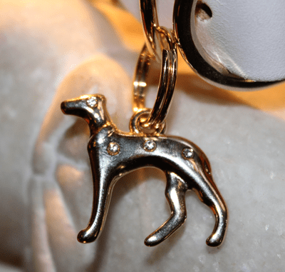 Galguito Sighthound Dog Charm - BARCELONADOGS