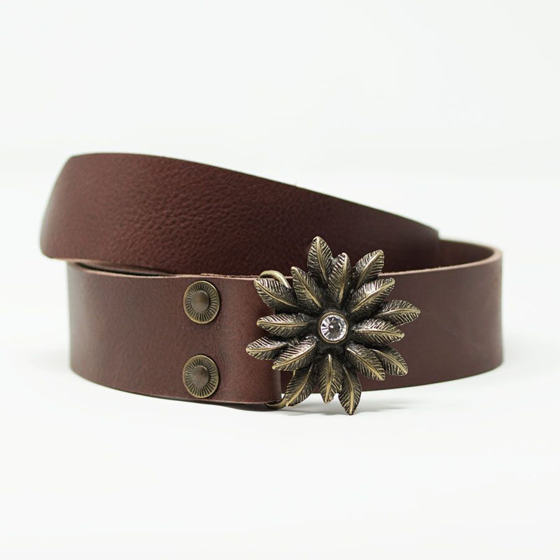Mrs Robinson Belt in Brown - BARCELONADOGS
