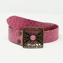 Empire Belt in Hot Pink - BARCELONADOGS