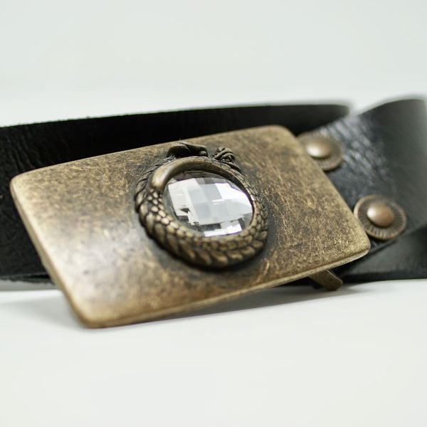 Dragon Belt in Black - BARCELONADOGS