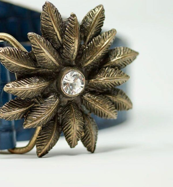 Mrs Robinson Belt in Blue - BARCELONADOGS