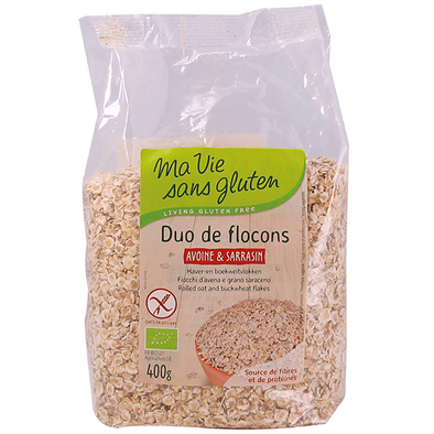 Duo Bio de Flocons Avoine et Sarrasin