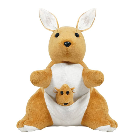 Kangaroo Soft Toy 12 Inches- Brown