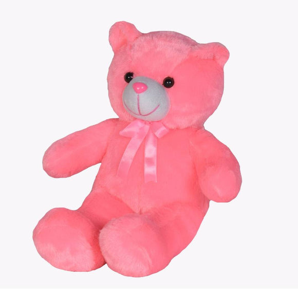 Baby Teddy Soft Toy 15 Inches- Pink