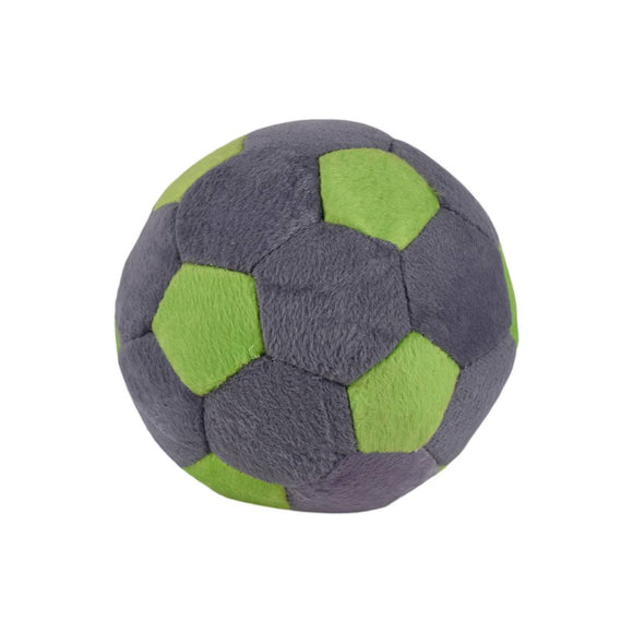 Plush Soft Toy Ball Grey 5 Inches