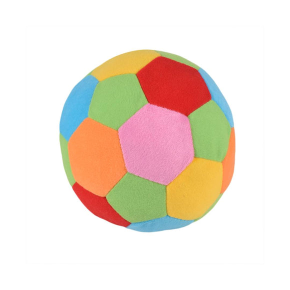 Plush Soft Toy Ball multicolor 7 Inches