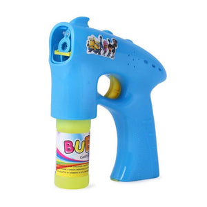 Battery Operated Bubble Gun Toy  For Kids