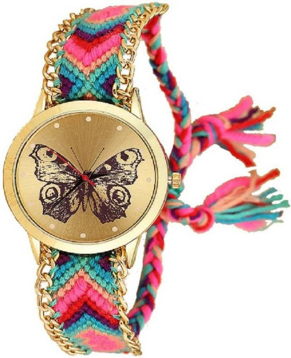 Muticoloured Watch For Women