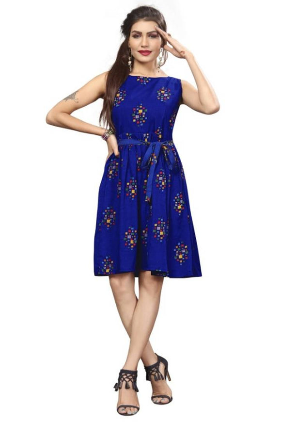 Western Were Frock Party Were One Piece Dress For Women's And Girls